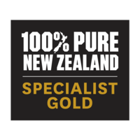 100% PURE NEW ZEALAND SPECIALIST GOLD