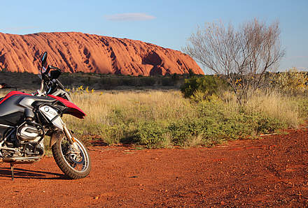Vom Kings Canyon nach Uluru