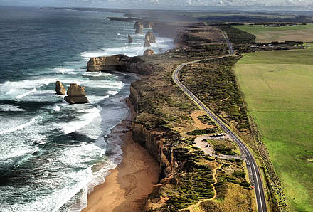 Von Port Campbell nach Melbourne