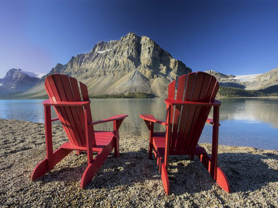 Relaxen am Icefield Parkway