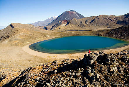 Tongariro N.P.-Emerald Lakes